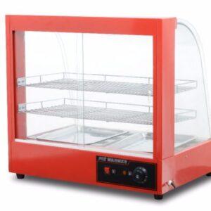Curved Glass Food Warming Showcase-buymozlems.com